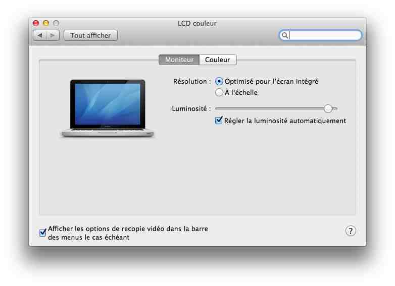 Disposition de 2 crans sous mac os l 39 le aux tutos for Mac fenetre hors ecran