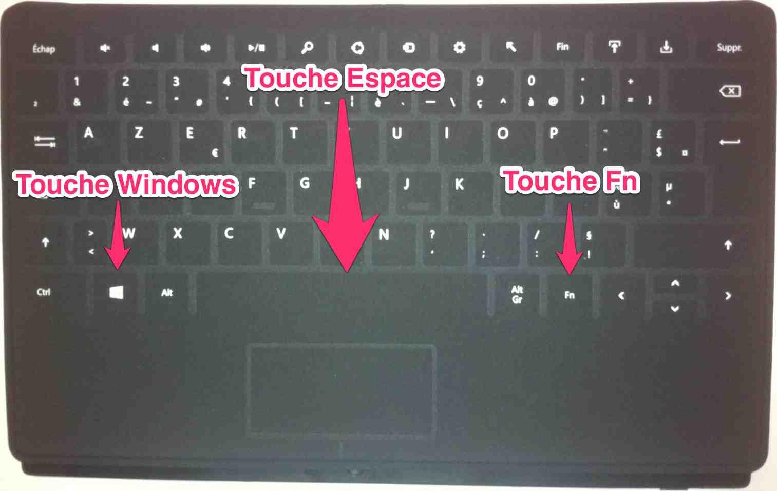 Faire une capture d cran sur une tablette tactile surface for Capture d42cran