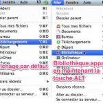 Afficher la bibliothèque de l'utilisateur sous Mac Mountain Lion