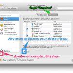 Monter un dossier réseau au démarrage du Mac