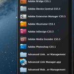 Agrandir les icônes de l'affichage Liste du dock – Mac OS X