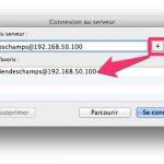 Se connecter à un serveur avec un utilisateur spécifique sous MAC OS