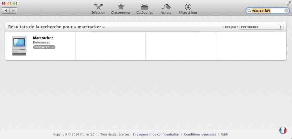 install mactracker applestore