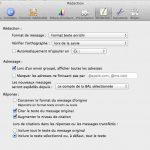 Définir un compte mail par défaut dans l'application MAIL de Mac OS X