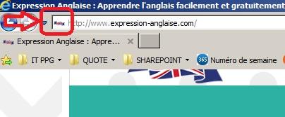favicon site gauche http