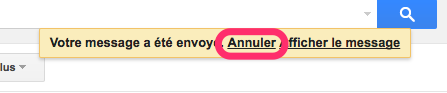 bouton annuler gmail